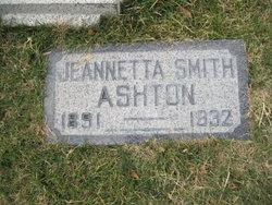 Jeanetta <i>Smith</i> Ashton
