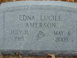Edna Lucile Amerson