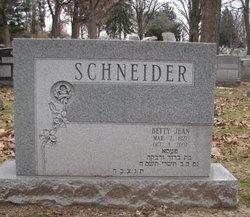 Betty Jean Schneider