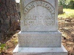 Sarah Elizabeth <i>Walker</i> Anderson