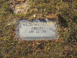 Wilda <i>Hayman</i> Abbott