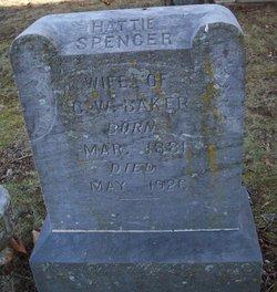 Hattie Della <i>Spencer</i> Baker
