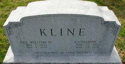 Catharine S <i>Dehart</i> Kline