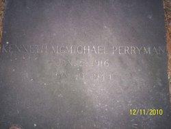 Kenneth McMichael Perryman