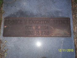 Bernice V <i>Knighton</i> Spence