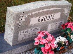 Geraldine <i>Keener</i> Brodie