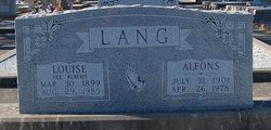 Alfons Lang