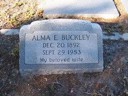 Alma Elizabeth Buckley