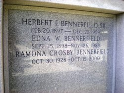 Ramona <i>Crosby</i> Bennerfield