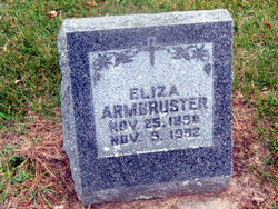 Eliza C. <i>Bohrtz</i> Armbruster