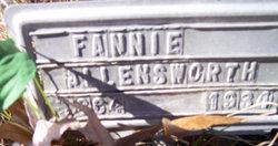 Fannie <i>Roush</i> Allensworth