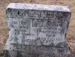 Elizabeth Rosana <i>Barnwell</i> Giesler