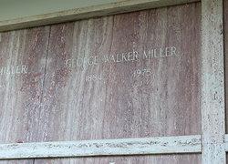 George Walker Miller