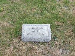 Marie <i>Huber</i> Alles