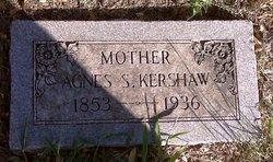 Agnes S Kershaw