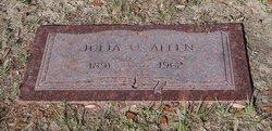 Julia O. <i>Conner</i> Allen