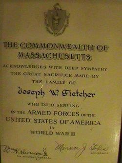 Joseph Willard Fletcher