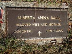 Alberta Anna <i>Stadtfield</i> Ball