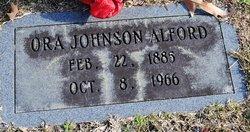 Ora Cecil <i>Johnson</i> Alford
