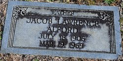 Jacob Lawrence Alford