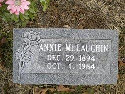 Annie M. <i>Schultz</i> McLaughin