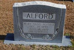 Mary Whorton <i>Olive</i> Alford