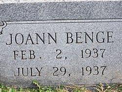 Joann Benge