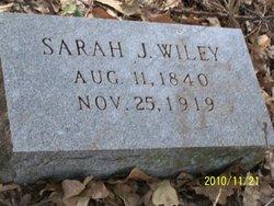 Sarah J. Wiley