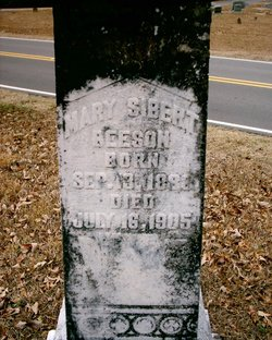 Mary Ann Frances <i>Sibert</i> Beeson
