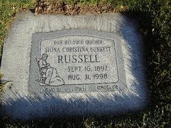 Siona <i>Burkett</i> Russell