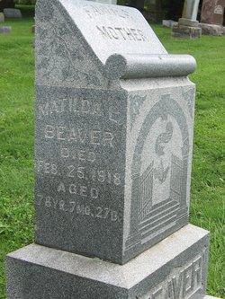 Matilda L. Beaver