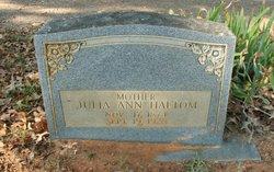 Julia Ann <i>Myatt</i> Haltom