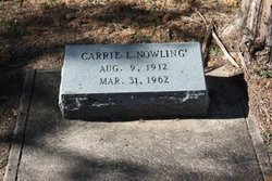 Carrie L Nowling