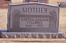 Martha Adeline <i>Boutwell</i> Stillwell