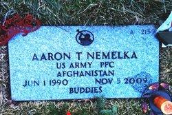 PFC Aaron Thomas Nemelka