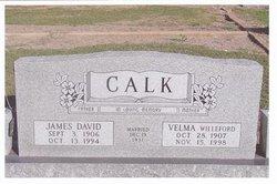 Velma Louise <i>Willeford</i> Calk