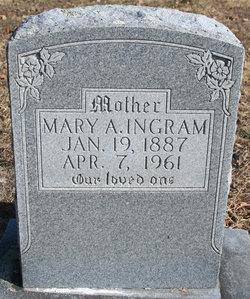 Mary Annis <i>Horton</i> Ingram