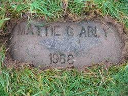 Mattie G <i>Baker</i> Ably