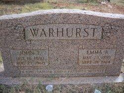 John Thomas Warhurst