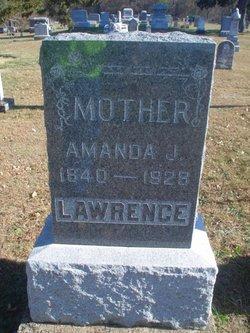 Amanda J <i>Reddington</i> Lawrence