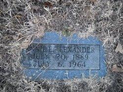 Annie E. Alexander