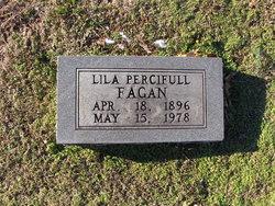 Lila Pauline <i>Percifull</i> Fagan