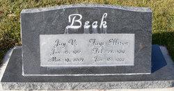 Alida Faye <i>Ellison</i> Beck