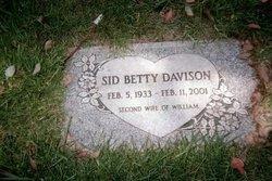 Betty May Sid <i>Fort</i> Davison