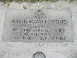 Arthur Vale Stone