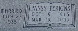 Pansy <i>Perkins</i> Blakesley
