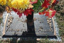 Jeannette <i>Ryan</i> Allen