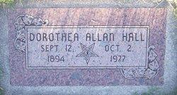 Dorethea <i>Allan</i> Hall