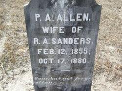 Pernesa A. <i>Allen</i> Sanders