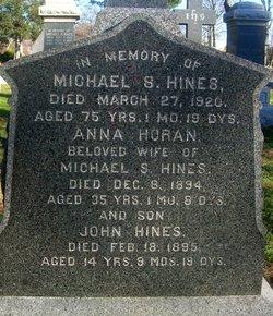 Anna <i>Horan</i> Hines